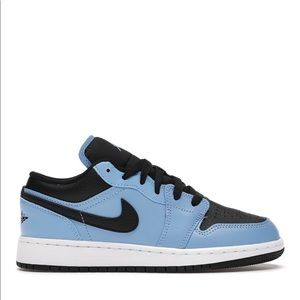 "💠*NEW* Air Jordan 1 Low ""University Blue"" (GS)"